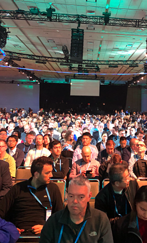 RSA Conference 2018 Crowd