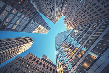 Coming Soon - Cyber Risk Factored into Business Credit Ratings - Skycrapers
