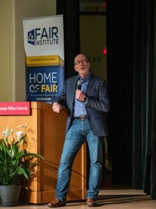 Jack Jones delivers a keynote address at FAIRCON 2018