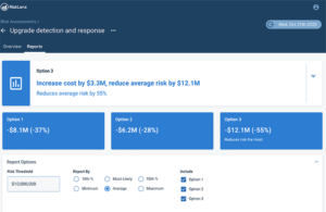 RiskLens Risk Treatment Analysis Report