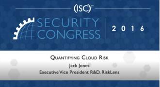 Jack Jones on Quantifying Cloud Risk
