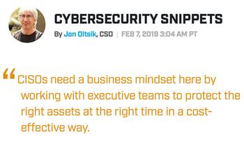 Jon Oltsik Quote CISOs Need Business Mindset