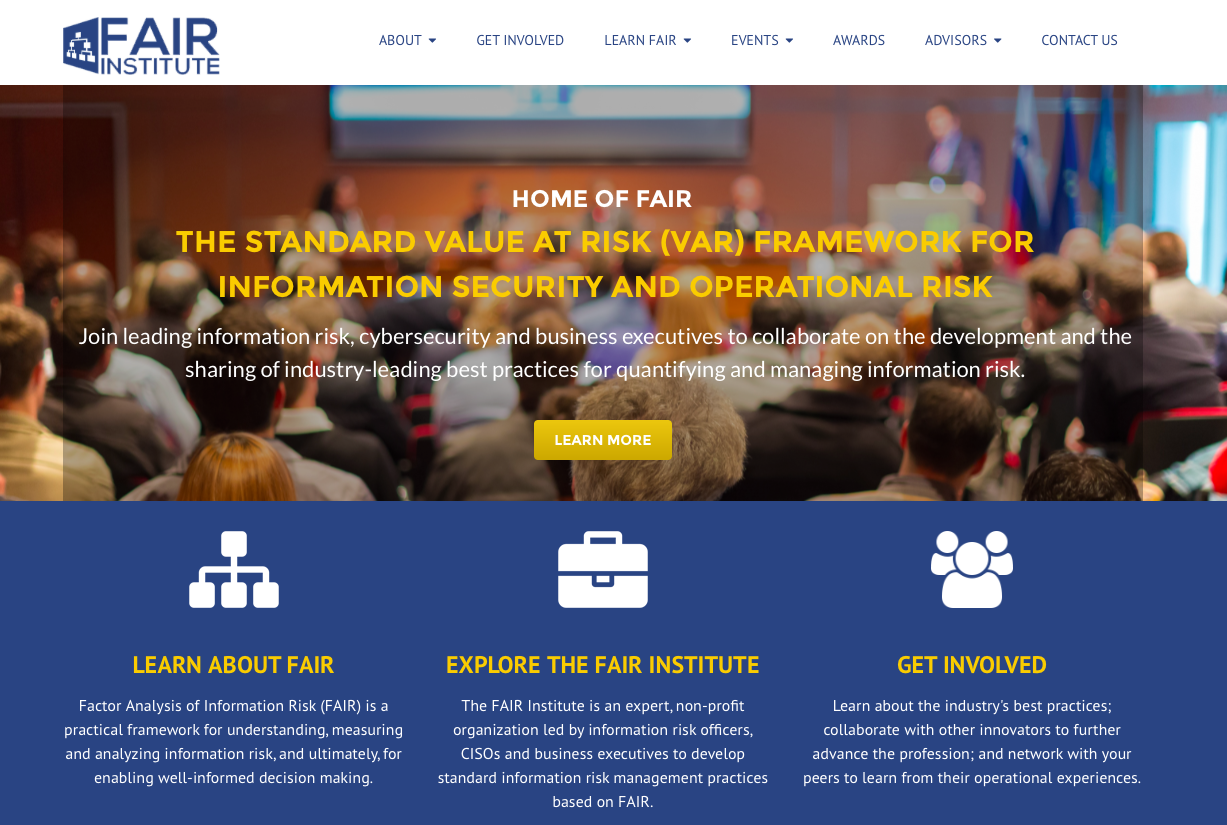 FAIR Institute homepage