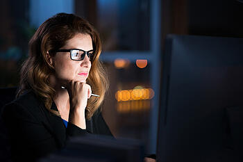 Survey Says IT Auditors Want to Do Better on Cybersecurity Here's How They Can Late Night Work Woman
