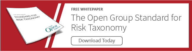 The Open Group Standard for Risk Taxonomy