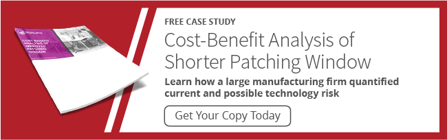 Cost-Benefit Analysis of Shorter Patching Window