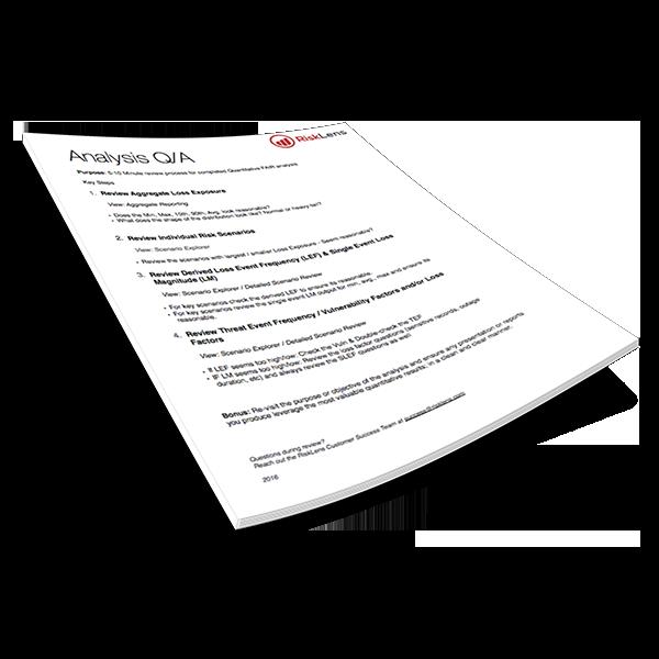 FAIR Analysis QA Guide